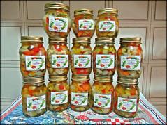 La mia Giardiniera (Maulamb) Tags: giardiniera vasi verdure