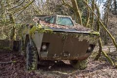 FREEDOM (danieljakob22) Tags: nikon exploring urbex moos panzer tank military vehicle abandonedvehicles abandonedcars freedom