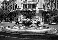 Fontana delle Rane, Quartiere Coppedè (Postcards from San Francisco) Tags: ma berggerpancro400 film analog ber49 roma italia
