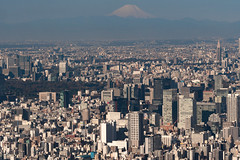 在晴空塔上|富士山 (里卡豆) Tags: sumidaku tōkyōto 日本 jp olympus 75mm f18 神之光 olympus75mmf18 penf