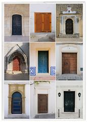 3 x 3 (Dan Haug) Tags: doors lisbon jerez sevilla obidos tangier spain portugal morocco montage portrait xh1 fujifilm xf1655mm