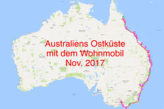 Routenplanung mit WikiCamps (RJ.Ockstadt) Tags: cairns melbourne cape tribulation withsunday brisbane sydney blue mountains wilsons prom australien wohnmobil camper eastcoast westküste