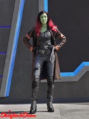 Gamora (Disneyland Dream) Tags: gamora gardians galaxy awesome dance off gardiens galaxie marvel eté super héros summer heroes disneyland paris walt disney studios