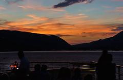 Ein schöner Abend am Heck der Mein Schiff 2 / A nice evening at the stern of Mein Schiff 2 (jörg opfermann) Tags: sony 7m2 ilce tamron 2470 f28 stimmung sonnenuntergang sundown mood