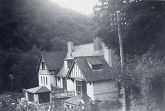 The Hunters Inn Heddons Mouth Valley 1950 (Bury Gardener) Tags: bw blackandwhite oldies old snaps scans monochrome mono devon england uk britain 1950s 1950