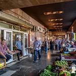 Mercato sotto i portici, Tbilisi, Georgia