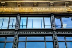 (Liane FKL) Tags: architecture façade fasad france bretagne shop magasin moderne gallery modern acier verre commerce gallerie market marché couleur color colour