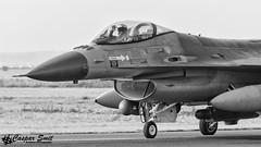 RNLAF F-16AM Fighting Falcon (Caspar Smit) Tags: rnlaf f16 falcon viper fightingfalcon j514 volkel ehvk aircraft fighter jet aviation airplane nikon d7000 coldigloo