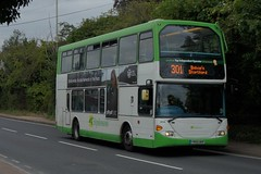 Oversized: Stephensons of Essex (ex Transdev London SLE12) Scania N94UD/Scania Omnidekka YN55NHF (634) Stansted Road Bishops Stortford 22/08/18 (TheStanstedTrainspotter) Tags: bus buses public transport vehicle publictransport bishopsstortford stansted stanstedmountfitchet saffronwalden newport audleyend quendon ugley widdington birchanger stephensonsofessex stephensons essex scania n94ud scanian94ud omnidekka scaniaomnidekka yn55nhf 634 transdev london transdevlondon sle12 stanstedroad unusual rare