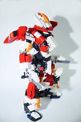 ARX-8 Laevatein PB (Plastic Build) (kuyaaids) Tags: full metal panic iv laevatein