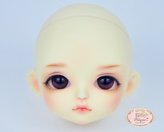 Lati yellow Sophie NS. (♥..Nomyens..♥) Tags: bjd balljointdoll toy doll custom faceup paint painting painted repaint handmade nomyens nomyenscom lati latidoll latiyellow sophie tiny tinydoll trickyface