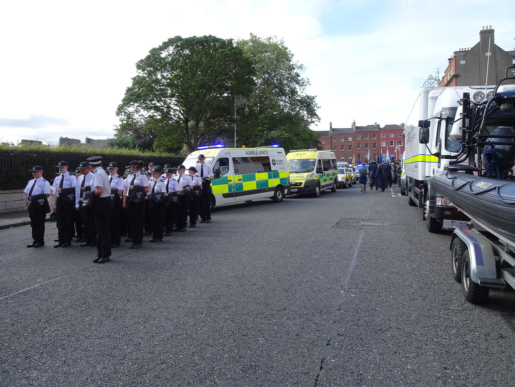 NATIONAL SERVICES DAY [PARADE STARTED OFF FROM NORTH PARNELL SQUARE]-143624