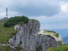 Traweng 1984 m (schasa68) Tags: traweng tauplitz aussichtsberg berg wanderung hiking gipfel gebirge gipfelkreuz austria österreich natur nature landschaft landscape bergwelt steiermark styria felsen himmel gras