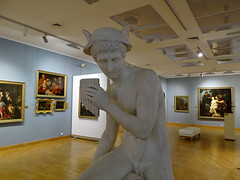 Minsk '18 (faun070) Tags: minsk nationalartmuseumofbelarus greekmythology mercuryreedpipegiuseppedelnero 1843 marble romanmythology