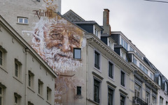 Old man (misterblue66) Tags: sony a6000 bruxelles brussels tag grafiti graffiti graphe streetphoto oldman vieilhomme spear