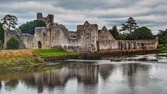 adare castle (-liyen-) Tags: ireland adarecastle adare castle reflection water ruins building stone fujixt2 countylimerick hallengeyouwinner cyunanimous