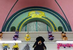 Deco Mermaid detail high up in the Central Pier Arcade (Meredith Jacobson Marciano) Tags: deco mermaid atlanticcity arcade beach boardwalk