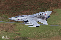 RAF Tornado GR4 ZA607 low level at Tebay (NDSD) Tags: low level panavia tornado gr4 tebay cumbria flying jet raf lake district plane aviation aircraft