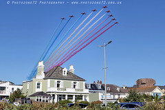 0806 Reds Arrival (photozone72) Tags: jersey airshows aircraft airshow aviation redarrows reds redwhiteblue raf rafat canon canon80d 80d 24105mmf4l canon24105f4l