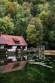 Mill at Blautopf