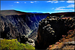Black Canyon of the Gunnison National Park Pulpit Rock v.2 (Chuckcars) Tags: colorado montrosecounty national park sky weather usa fujifilm xpro2 fujinon23mmf2wr nature landscape gunnison valley fujinon23mm blue monument service natoinal oulpit rock montrose