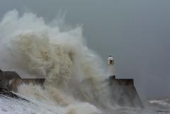 JWL8875 Storm Ali.. (jefflack Wildlife&Nature) Tags: porthcawl lighthouse storm seashore sea wales coastline coast nature