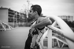David (DavidLabasque) Tags: homme man men boy garçon male model modèle shoot shooting face portrait visage profil noiretblanc nb bw blackandwhite noir blanc black white monochrome canon eos 6d 50mm france french paris canal 2018