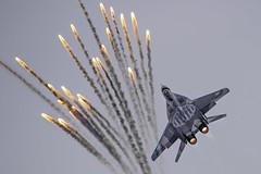 "Микоян-Гуревич 29 ( Patrice OLIVIER ""Aéropix'Ailes"") Tags: typical russian fighter mig29 polish polishairforces"