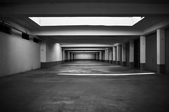 Parking lot (iamunclefester) Tags: münchen munich blackandwhite monochrome parkinglot parking