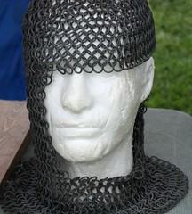 In another day, another time... (Sylvia...Sometimes) Tags: chainmail craftsmen armor