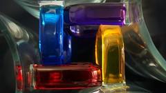 Colorido/Colorfull (Marina Is) Tags: macromondays hmm glass colorglass cristal cristaldecolores mugs tazas handles asas samsunggalaxys9plus