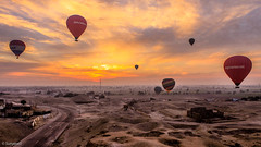 Balloons Luxor (Sunyawit Sethapokin) Tags: ngc egypt luxor balloon