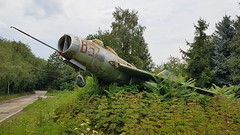 """Mikoyan-Gurevich Mig.19S Bulgaria Air Force serial 877 preserved as """"857"""" (Erwin's photo's) Tags: bulgaria preserved aircraft wr ia instructional airframe mikoyangurevich mig19s air force serial 877 857"""