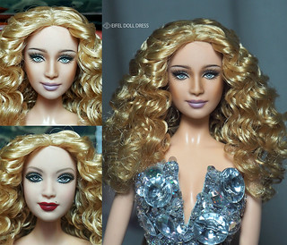 for sell : repaint Barbie 2007 Jazz Baby  Mistress of Ceremonies