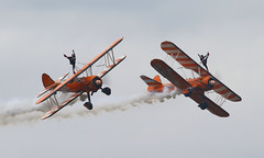 Wingwalkers (Treflyn) Tags: wingwalkers display boeing stearman biplanes aerosuperbatics biggin hill airport air show 2018 festivalofflight festival flight