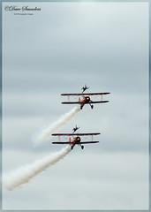 Aerosuperbatics Wing Walkers (dave101saunders (djsphotographicimages.com)) Tags: aerosuperbatics wing walkers biggin hill festival aerobatics aeroplane plane airplane aircraft flight walking