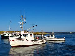 Fishing Boats (Colorado Sands) Tags: boat fishingboat capecod usa sandraleidholdt water lobstermobster lobsterfishing fishing massachusetts atlantic watercraft newengland coastline