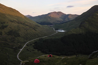 Arrochar Wild Camp Sunset Zoom
