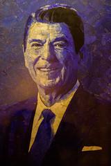 Ronald Reagan Library (Thomas Hawk) Tags: america american california losangeles presidentreagan reagan ronaldreagan ronaldreaganlibrary ronaldreaganpresidentiallibraryandcenterforpublicaffairs ronaldwilsonreagan simivalley southerncalifornia usa unitedstates unitedstatesofamerica painting politics presidency president fav10