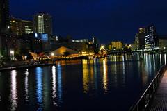 Tokyo River Side (pippuriric) Tags: shinagawa tokyo japan sigma sdquattro foveon nightview cityview dark