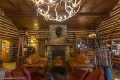 Storm Mountain Lodge Lobby (Samantha Decker) Tags: ab alberta banffnationalpark canada canadianrockies canonef1635mmf28liiusm canoneos6d parkscanada rockymountains samanthadecker stormmountainlodge uwa wideangle