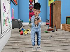 8) (Zaidood -Lil & Big Blogger-) Tags: littlemiss fli flite besom babyburp ar high v boogers junkfood highv blogger secondlife fashion kids kidsroom animals blackbantam pinkacid bengal kitten kitties house furniture lockers fit cute
