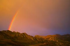 somewhere over the rainbow (chtimageur) Tags: col de croix bonhomme tmb 2018 summer rainbow mountains refuge landscape great colours arc en ciel regenboog tour du mont blanc randonnée canon canon6dmarkii 40 f28