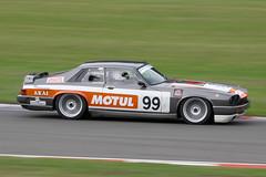 1980 Jaguar XJS 5300cc - James Rann - CSSC Jaguar Saloon & GT Championship 2018 - Donington Park (anorakin) Tags: 1980 jaguar xjs 5300cc jamesrann cssc jaguarsaloongtchampionship 2018 doningtonpark