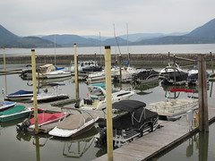 Busy in the summer (jamica1) Tags: salmon arm shuswap marina pier bc british columbia canada