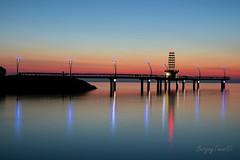 Burlington Pier. (BergeyTown) Tags: burlington sunrise nikon d500