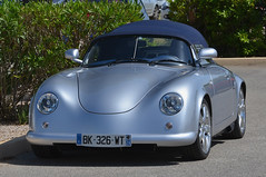 Porsche 356 Speedster Replica (jfhweb) Tags: jeffweb automobile voiture auto car classiccar voituredecollection historicalcar courseautomobile voituregrandtourisme voituredesport automobileclassique voitureancienne circuitpaulricard circuitducastellet circuitlecastellet lecastellet httt porsche 356 speedster