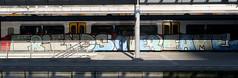 traingraffiti (wojofoto) Tags: treingraffiti trein traingraffiti train fofs amsterdam graffiti streetart nederland netherland holland wojofoto wolfgangjosten