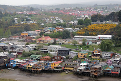 Palafitos de Castro (PhantomClickr) Tags: chile castro islaschiloe patagonia southamerica loslagosregion palafitos chiloe island stilts house architecture colorful colors village wood traveling travel
