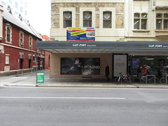 Former Sony Centre (69 Grenfell St) being converted into Balabala Laser Clinic (RS 1990) Tags: former sonycentre grenfellst conversion balabala laserclinic adelaide southaustralia august 2018 leased